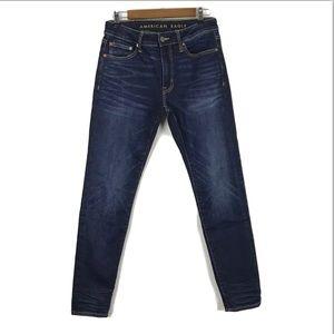 AEO Men's Extreme Flex Jeans Slim Straight Dark